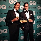 The Stenmark twins, Zac and Jordan, might be the two best dressed gents who attended the GQ Men of the Year Awards.
