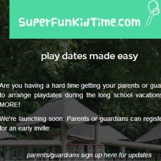 Playdate Website