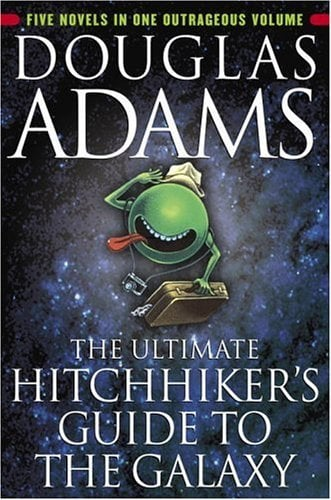 The Hitchhiker's Guide to the Galaxy — Kindle Edition ($8)