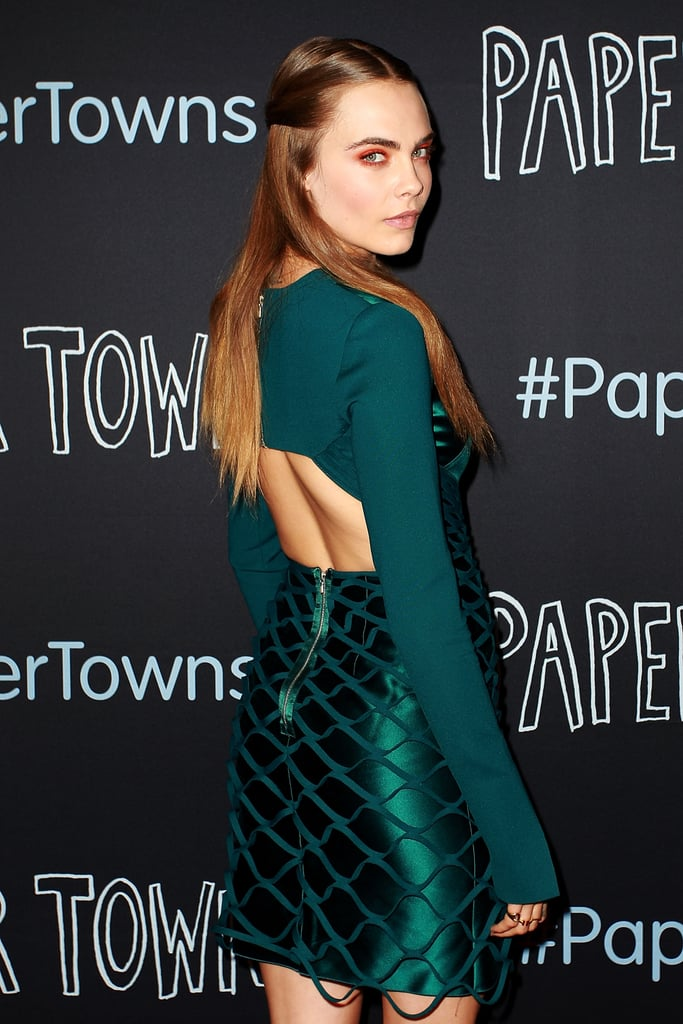 Cara Delevingne Interview at Paper Towns Sydney Premiere