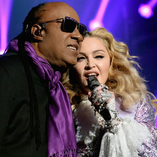 Madonna und Stevie Wonder bei den Billboard Music Awards