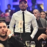 Chance the Rapper at Clive Davis's 2020 Pre-Grammy Gala in LA