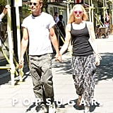 Gwen Stefani and Gavin Rossdale held hands for a stroll in London.