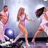"Jennifer Lopez and Emme Singing ""Limitless"" Video June 2019"