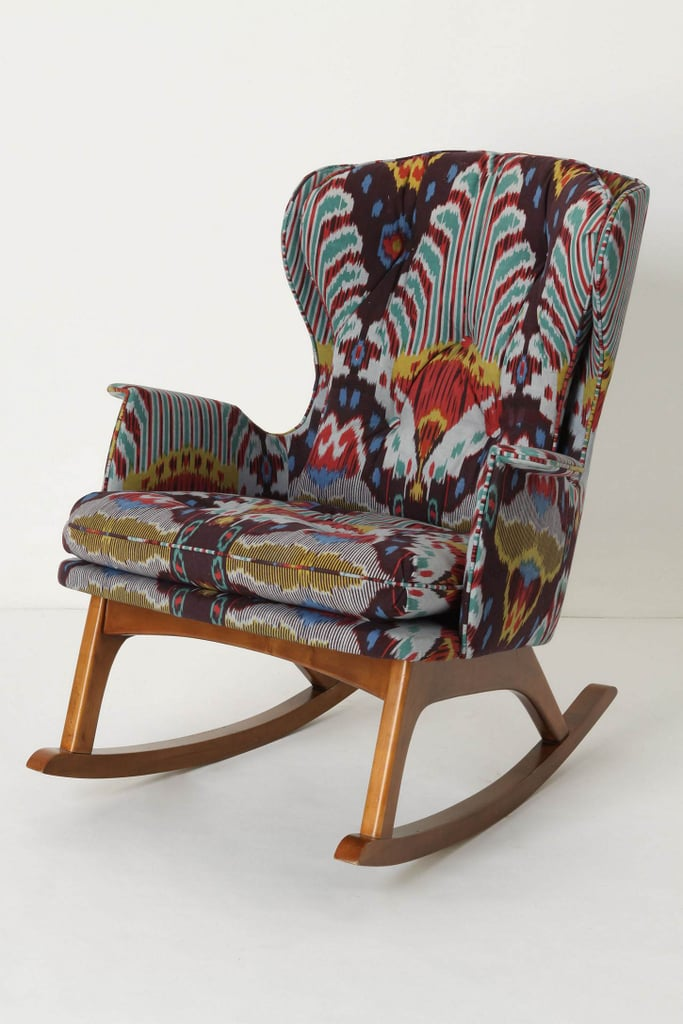 Ikat Rocking Chair