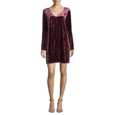 JCPenney Crushed Velvet Dress