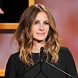 Julia Roberts mastered sexy bedhead at the 2013 BAFTA LA Jaguar Britannia Awards.