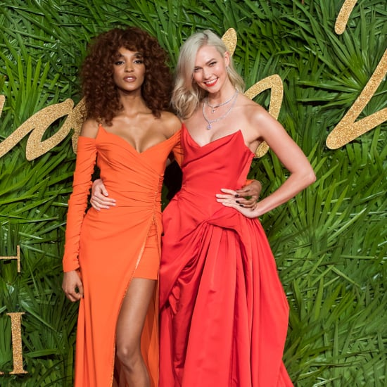 British Fashion Awards Red Carpet Dresses