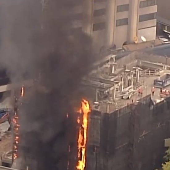 Circular Quay Building Fire Video