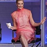 Project Runway Episode 2: Karlie's Pink Prada Dress