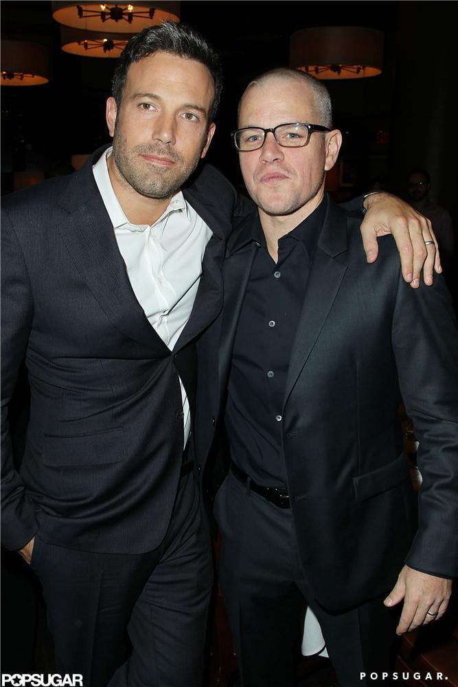 Ben Affleck's friend Matt Damon attended the NYC premiere of Argo in October, along with other famous faces including George Clooney.