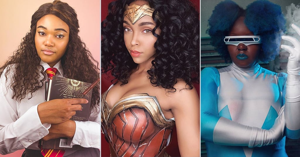 Black Female Cosplayers on Instagram