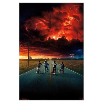 Stranger Things 2 Key Art Poster