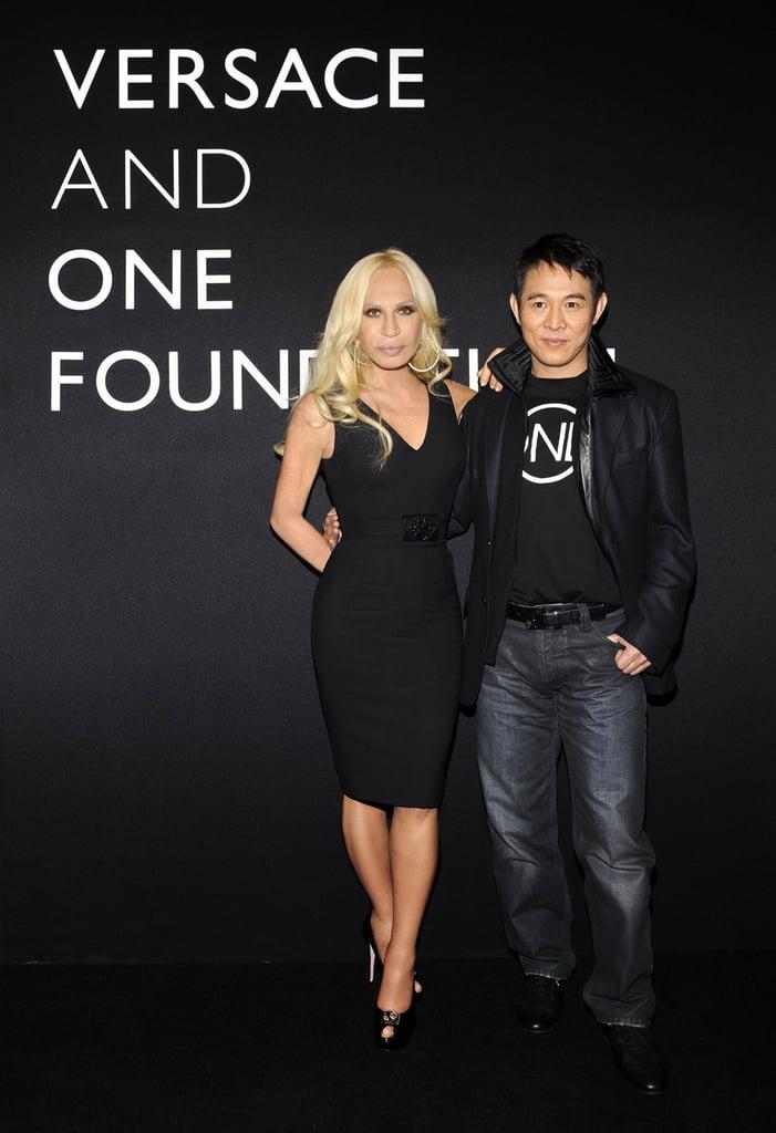 Versace show in Beijing