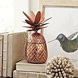 Birch Lane Copper Pineapple Lidded Bowl