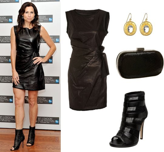 Pictures of Minnie Driver in Leather Dress