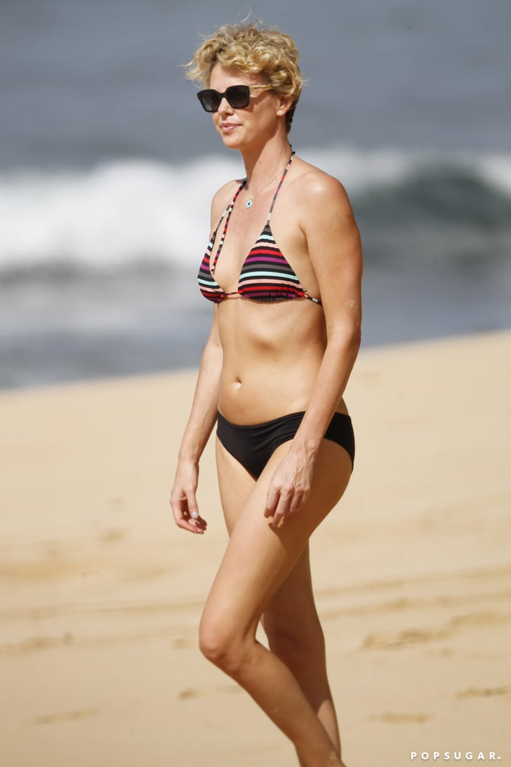 Charlize Theron Best Celebrity Bikini Pictures
