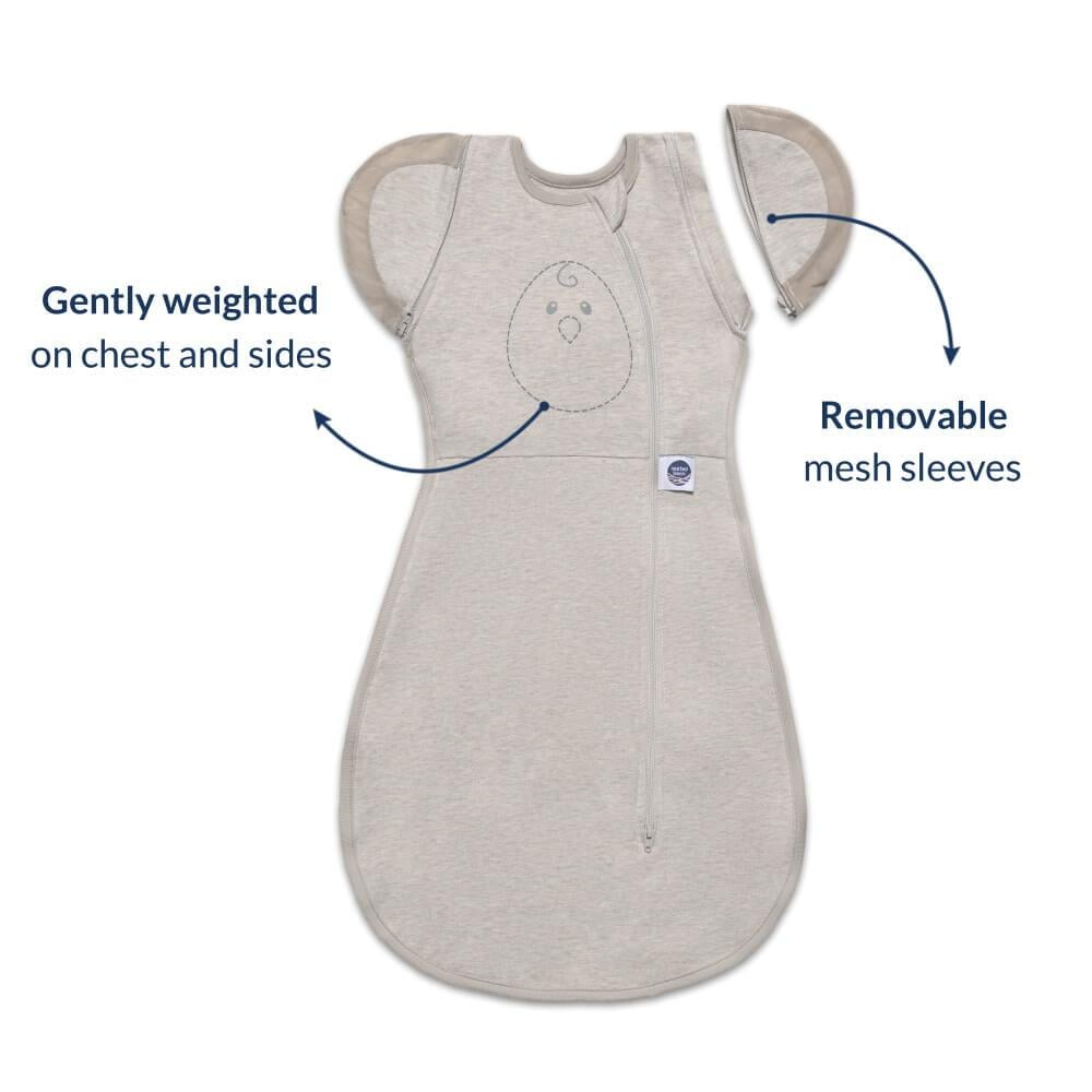 Nested Bean Zen One Classic Swaddle in Sand   The Nested ...