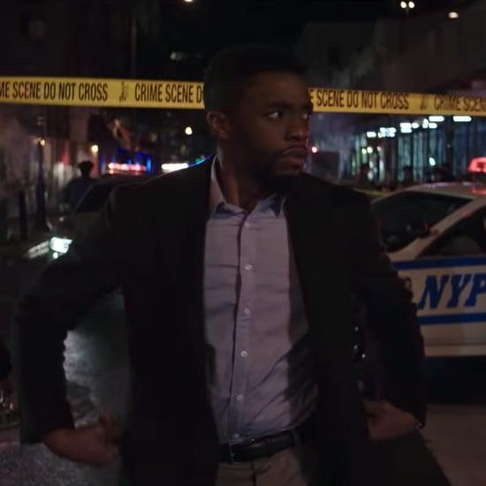 Chadwick Boseman in 21 Bridges Movie Trailer