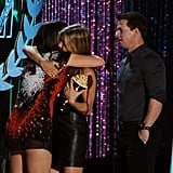 Mila Kunis, Jennifer Aniston, and Mark Wahlberg