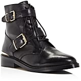 Vince Camuto Tokode Lace Up Combat Booties ($189)