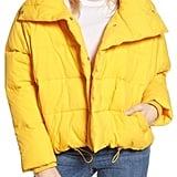 Topshop Puffer Coat