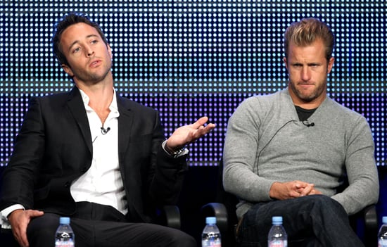 Scott Caan and Alex O'Loughlin Talk Hawaii 5-0 at the TCA