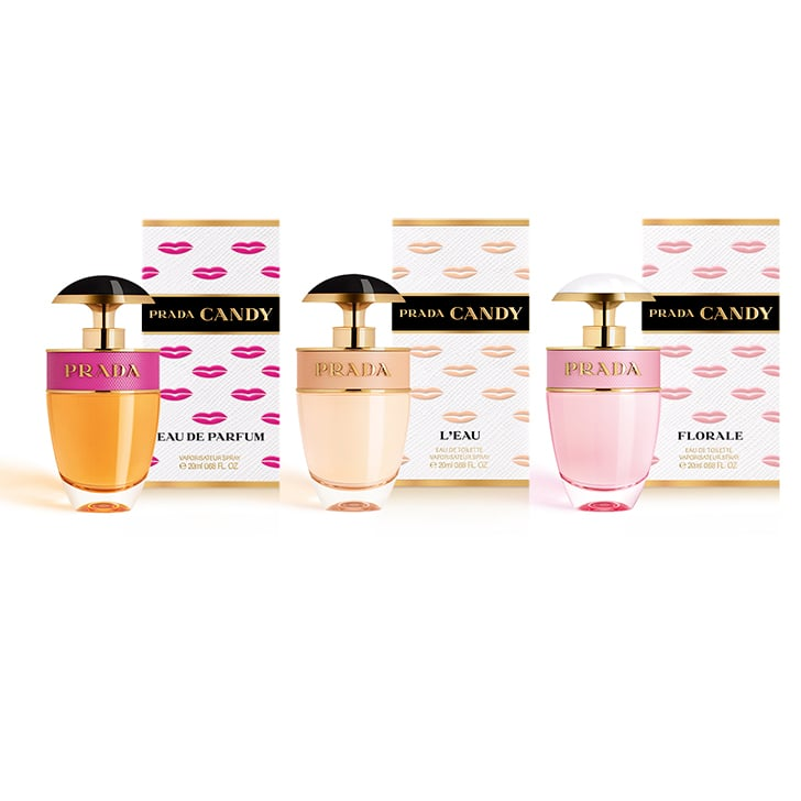 Prada Candy Kiss Collection, $49 each (out Jul. 5)