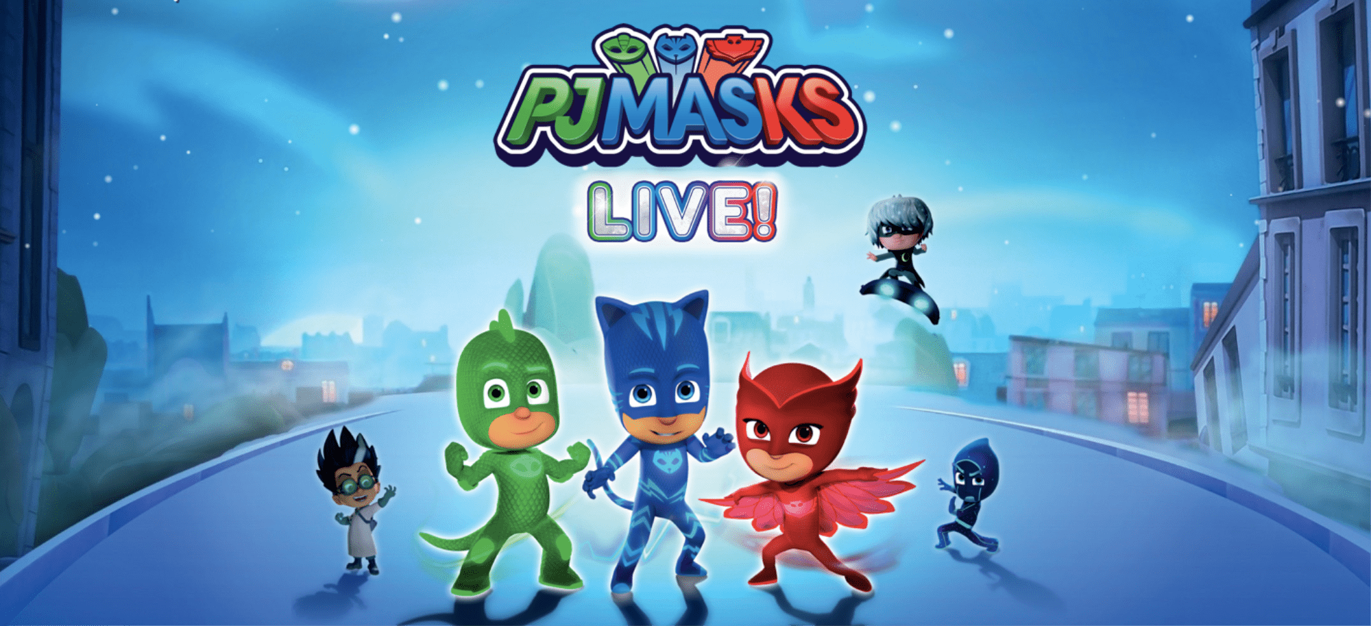 Calling All PJ Masks Fans! There's a Live Tour Coming, and You're Gonna Want Tickets!