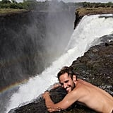 Swim in Devil's Pool in Zambia