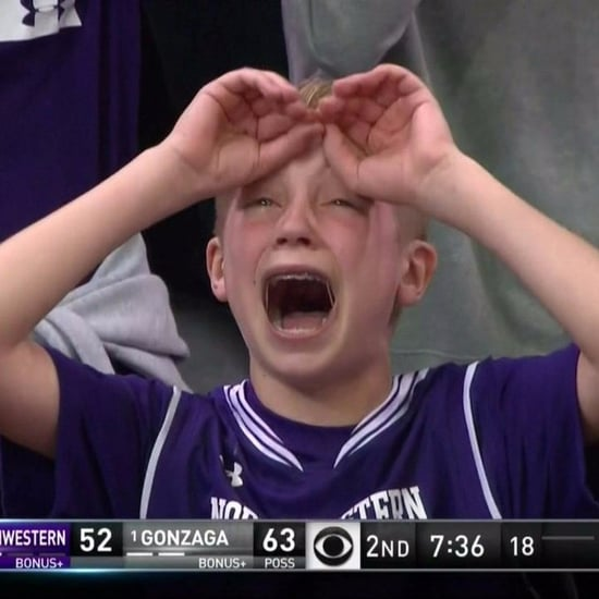 March Madness 2017 Northwestern Kid Crying Meme