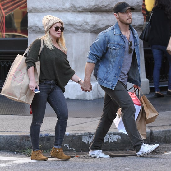 Hilary Duff Holding Hands With Boyfriend September 2016