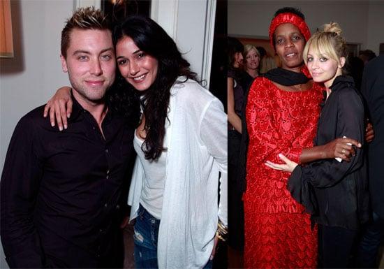Photos of Nicole Richie, Lance Bass, Sharon Stone, Emmanuelle Chriqui at Peave Please Event in LA