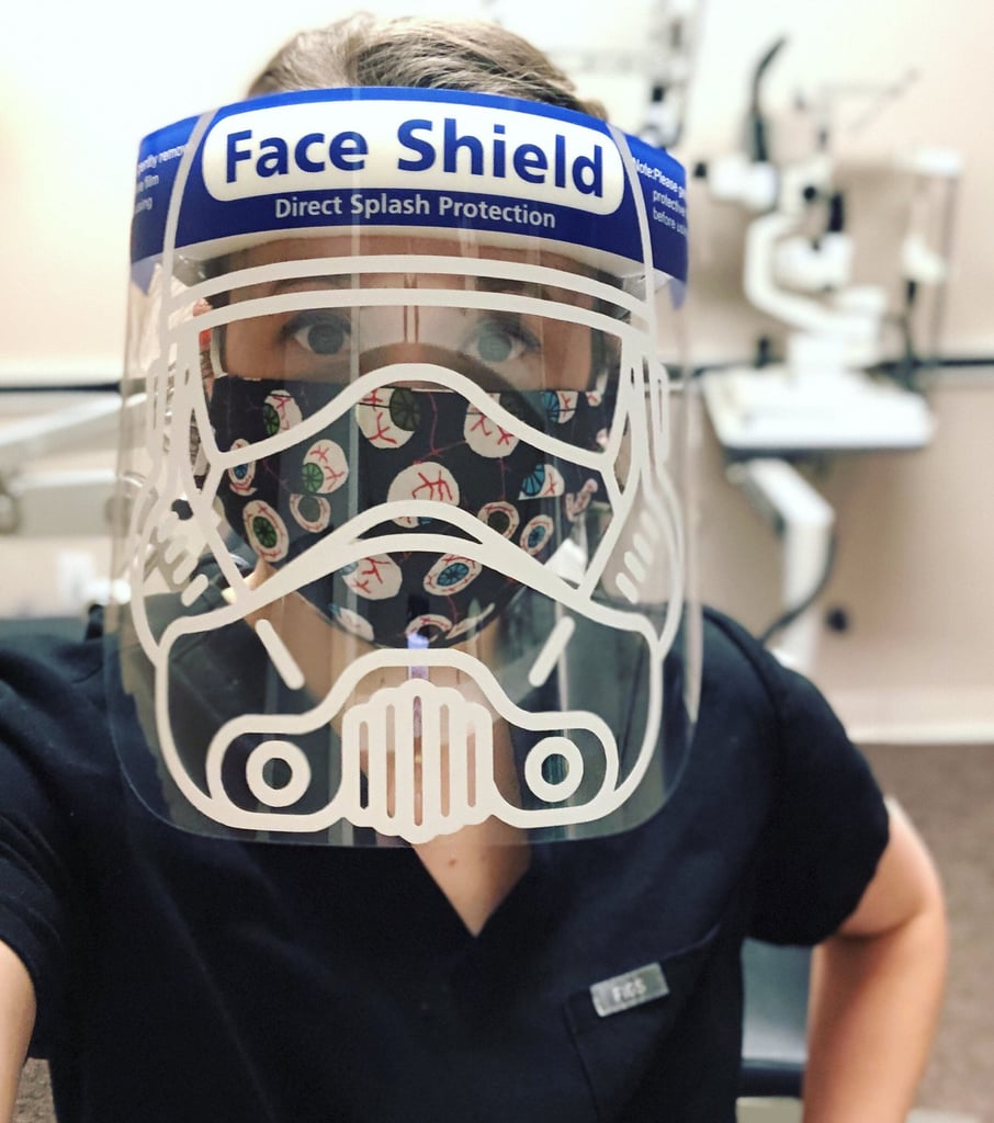 Cute Face-Shield Decals