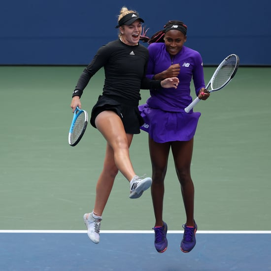 The Best Photos of Tennis Stars Coco Gauff and Caty McNally