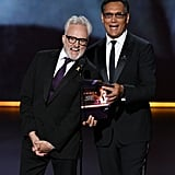 Bradley Whitford and Jimmy Smits at the 2019 Emmys