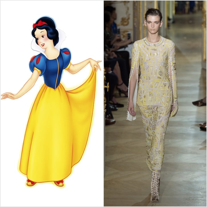 Snow White in J. Mendel Haute Couture