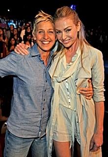 Ellen DeGeneres and Portia de Rossi Have the Look of Love Down
