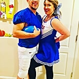 Football Star and Cheerleader