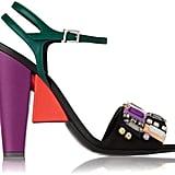 Fendi Embellished Satin Sandal ($1,250)