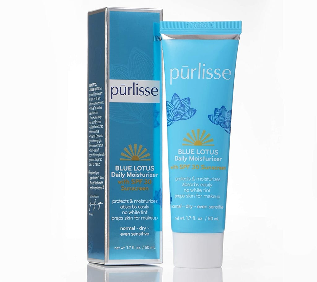 Purlisse Blue Lotus Essential Daily Moisturizing Face Lotion With SPF 30
