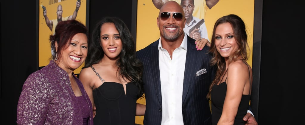 50 Pictures of Dwayne Johnson and His Beautiful, Blended Family