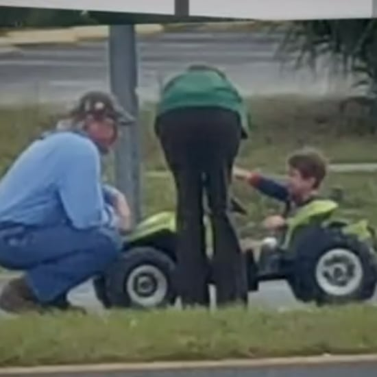 Toddler Found Driving Power Wheels Car Down Busy Highway