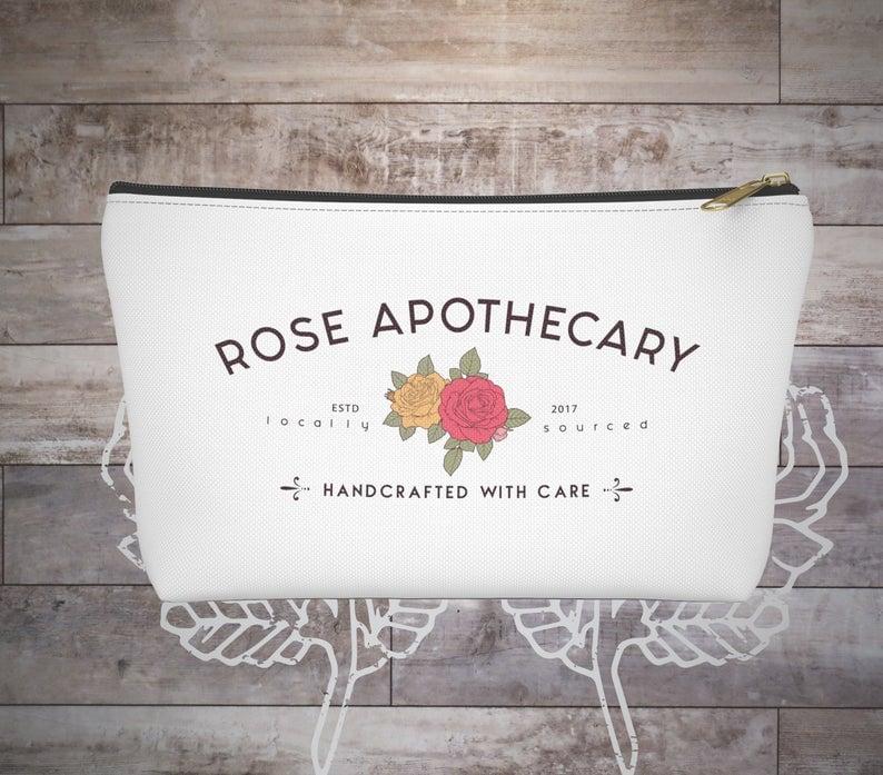 Rose Apothecary Makeup Bag
