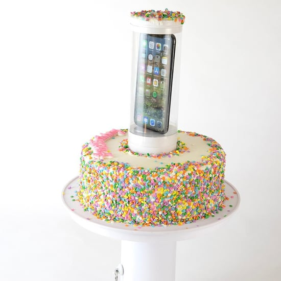 This Popping Cake Stand Lets You Hide a Gift Inside a Cake