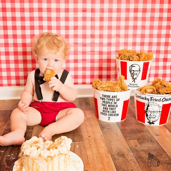 Cake Smash With KFC Theme