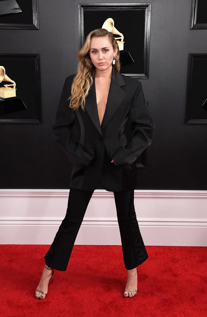 Miley Cyrus at the 2019 Grammy Awards