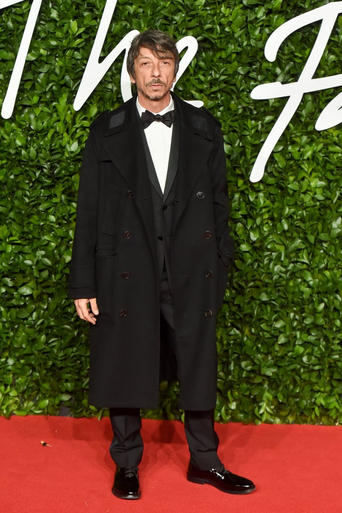 Pier Paolo Piccioli at the British Fashion Awards 2019