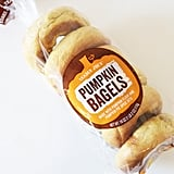 Trader Joe's Pumpkin Bagels ($2)