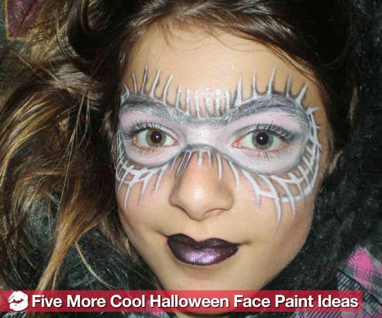 5 easy new halloween face paint designs popsugar beauty - Halloween Facepaint